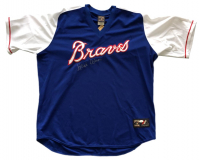 Hank Aaron Signed Braves Majestic Jersey (JSA LOA) at PristineAuction.com