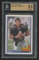 Brett Favre 1991 Upper Deck #647 (BGS 9.5) at PristineAuction.com