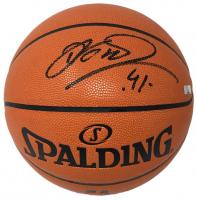 Dirk Nowitski Signed NBA Game Ball Series Basketball (Panini COA) at PristineAuction.com