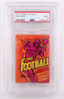 1973 Topps Football Unopened Wax Pack (PSA 9) at PristineAuction.com