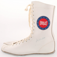 Muhammad Ali Signed Everlast Boxing Boot (JSA LOA) at PristineAuction.com