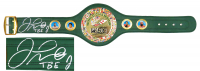 "Floyd Mayweather Jr. Signed Full-Size WBC Heavyweight Championship Belt Inscribed ""TBE"" (Schwartz COA) at PristineAuction.com"
