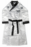 Floyd Mayweather Jr. Signed Everlast Boxing Robe (Schwartz COA) at PristineAuction.com