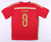 Xavi Hernandez Signed Team Spain Jersey (PSA COA) at PristineAuction.com