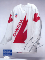 Conor McDavid Signed 8.5x11 Team Canada Magazine Page (JSA COA) at PristineAuction.com