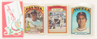 1972 Topps Baseball Unopened Christmas Rack Pack with (12) Cards at PristineAuction.com