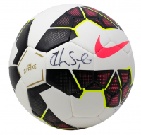 Hope Solo Signed Nike Strike Soccer Ball (JSA COA) at PristineAuction.com