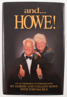 """Gordie Howe & Colleen Howe Signed """"and...Howe!"""" Hard-Cover Book (PSA COA) at PristineAuction.com"""