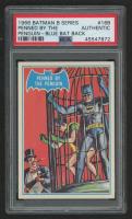 1966 Batman B Series Blue Bat #16B Penned by the Penguin (PSA Authentic) at PristineAuction.com