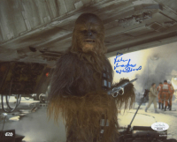 """Peter Mayhew Signed """"Star Wars: The Empire Strikes Back"""" 8x10 Photo Inscribed """"Chewbacca"""" (JSA COA) at PristineAuction.com"""