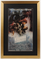 """Star Wars: Episode V – The Empire Strikes Back"" 17x25 Custom Framed Movie Poster Print Display at PristineAuction.com"