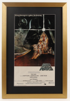 """Star Wars"" 17x25 Custom Framed Movie Poster Print Display at PristineAuction.com"