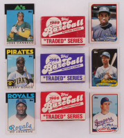 Lot of (3) Topps Traded Sets with 1985, 1986 & 1989 at PristineAuction.com