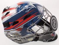 Braden Holtby Signed Capitals Full-Size Goalie Mask (JSA COA) at PristineAuction.com