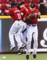 Jordan Schafer, Jason Bourgeois & Brian Bogusevic Signed Astros 16x20 Photo (JSA Hologram) at PristineAuction.com