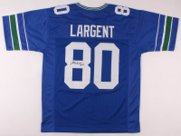 """Steve Largent Signed Jersey Inscribed """"HOF 95"""" (JSA Hologram) at PristineAuction.com"""