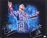 "Ric Flair Signed WWE 16x20 Photo Inscribed ""Nature Boy"", ""Wooooo"" & ""16x"" (JSA COA) at PristineAuction.com"