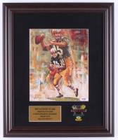 Bart Starr Signed Packers 14.5x17.5 Custom Framed Print Display with Packers Pin (PSA COA) at PristineAuction.com