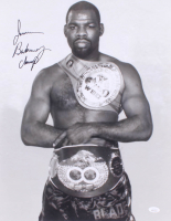 "Iran Barkley Signed 16x20 Photo Inscribed ""Champ"" (JSA COA) at PristineAuction.com"