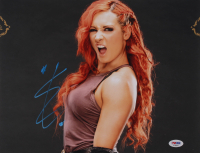 Becky Lynch Signed WWE 11x14 Photo (PSA Hologram) at PristineAuction.com