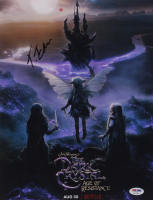 "Taron Egerton Signed ""The Dark Crystal: Age of Resistance"" 11x14 Photo (PSA Hologram) at PristineAuction.com"