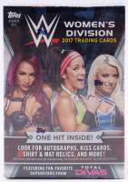 2017 Topps WWE Women's Division Blaster Box with (81) Cards at PristineAuction.com