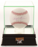 "Ralph Kiner Signed OML Baseball Inscribed ""HOF 75"" with Display Case & Pirates Pin (PSA COA) at PristineAuction.com"
