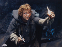 """Sean Astin Signed """"Lord Of The Rings: The Return Of The King"""" 11x14 Photo (PSA Hologram) at PristineAuction.com"""