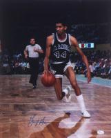 George Gervin Signed Spurs 16x20 Photo (JSA COA) at PristineAuction.com
