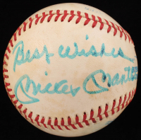 """Mickey Mantle Signed OAL Baseball Inscribed """"Best Wishes"""" (JSA ALOA) at PristineAuction.com"""