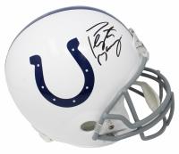 Peyton Manning Signed Colts Full-Size Helmet (Fanatics Hologram) at PristineAuction.com