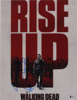 """Andrew Lincoln & Norman Reedus Signed """"The Walking Dead"""" 11x14 Photo (PSA Hologram) at PristineAuction.com"""