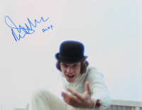 "Malcolm McDowell Signed ""A Clockwork Orange"" 11x14 Photo Inscribed ""Alex"" (AutographCOA Hologram) at PristineAuction.com"