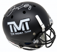 "Floyd Mayweather Jr. Signed ""The Money Team"" Full-Size Helmet (Schwartz COA) at PristineAuction.com"