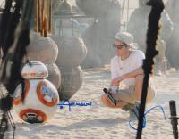 "J.J. Abrams & Christian Alzmann Signed ""Star Wars"" 11x14 Photo (AutographCOA Hologram) at PristineAuction.com"