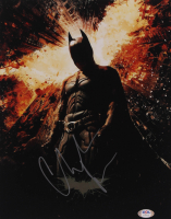 "Christian Bale Signed ""Batman: The Dark Knight Rises"" 11x14 Photo (PSA Hologram) at PristineAuction.com"