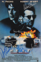"""""""Heat"""" 12x18 Photo Signed by (7) with Al Pacino, Val Kilmer, Michael Mann, Tom Sizemore, Wes Studi, Danny Trejo & Henry Rollins (AutographCOA Hologram) at PristineAuction.com"""