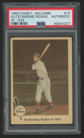 Ted Williams 1959 Fleer Ted Williams #14 / Outstanding Rookie of 1939 (PSA Authentic) at PristineAuction.com