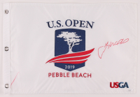 Gary Woodland Signed 2019 U.S. Open Golf Pin Flag (JSA COA) at PristineAuction.com