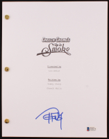 """Tommy Chong Signed """"Up in Smoke"""" Movie Script (Beckett COA) at PristineAuction.com"""