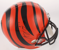 A.J. Green Signed Bengals Full-Size Helmet (Schwartz COA) at PristineAuction.com