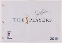 Rory McIlroy Signed The Players Golf Pin Flag (JSA COA) at PristineAuction.com