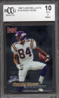 Randy Moss 1998 Fleer Brilliants #140 RC (BCCG 10) at PristineAuction.com