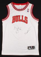Ron Harper & Toni Kukoc Signed Bulls Jersey (JSA COA) at PristineAuction.com