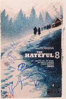 """""""The Hateful 8"""" 12x18 Photo Signed by (4) with Jennifer Jason Leigh, Kurt Russell, Michael Madsen & Quentin Tarantino (AutographCOA Hologram) at PristineAuction.com"""