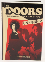 """John Densmore Signed """"The Doors: Unhinged: Jim Morrison's Legacy Goes on Trial"""" Hard Cover Book (JSA COA) at PristineAuction.com"""