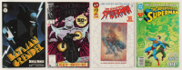 """Lot of (4) Comic Books with 1991 Marvel """"Silver Surfer"""" #50, 1993 DC """"The Adventures of Superman"""" #11, 1996 """"The Sensational Spider-Man"""" #0 & 1996 DC """"Batman/Grendel"""" #1 at PristineAuction.com"""