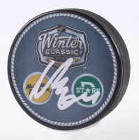 Mikael Granlund Signed 2020 Winter Classic Logo Hockey Puck (JSA COA) at PristineAuction.com