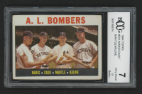1964 Topps #331 AL Bombers / Roger Maris / Norm Cash / Mickey Mantle / Al Kaline (BCCG 7) at PristineAuction.com
