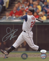 Jim Thome Signed Indians 8x10 Photo (JSA Hologram) at PristineAuction.com